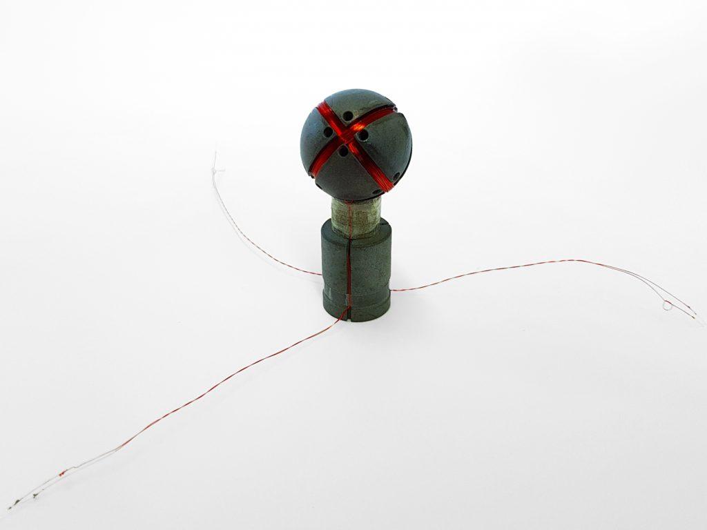 Spule zum Messen von Elektrosmog