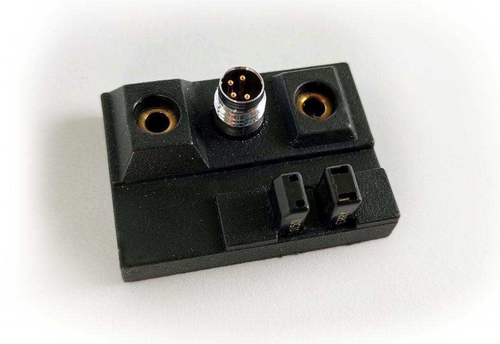 Spritzteil mit Lichtschranke und M8